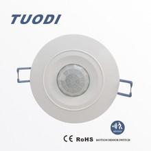 TDL-9959J 110v ceiling occupancy sensor switch recessed360 degree 110v recessed motion sensor switch