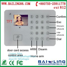 High-end TFT color screen touch keypad IOS Android SMS GSM alarm system (BL-E99)