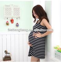 BK028 wholesale drop ship 2015 new striped girls sexy nighty dress