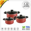 Cocina odj fda& lfgb presionado/forjado no- de aluminio palo de cerámica de múltiples eléctrica olla de cocción