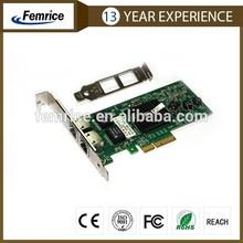 Femrice brand intel82571EB Chip controller ,Gigabit Ethernet Copper PCIex4 dual port network card