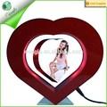 forma de coração de levitação magnética open sexy hot girl foto ou foto picture frame