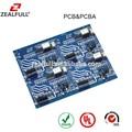 Pcb montado, placa de circuito impreso de montaje( pcb) con componentes electrónicos