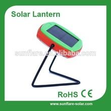 LED source portable solar lantern