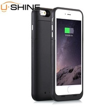 New Arrival External backup battery case for iphone 6 plus mobile phone battery case