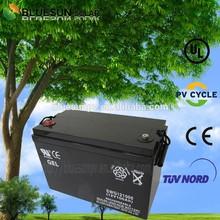 Bluesun ISO CE ROHS UL Certificate gel 12V 100AH battery mart