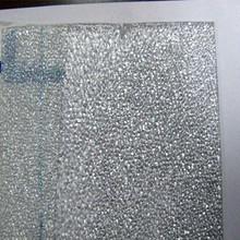 Top vente UV enduit dix ans de garantie Polycarbonate feuille de diamant Transparent Polycarbonate toiture en relief feuilles