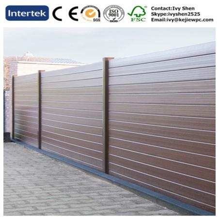&; door > outdoor use wood texture fencing garden decorative wpc fence