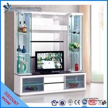 Modern Cheap Europe Style white tv unit / wall units