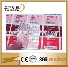Special label roll holder, sticker label roll for bottles