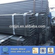 black powder coating 25mmx25mm square tube steel