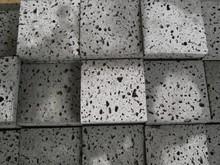 cheap natural grey basalt stone lava stone mosaic tile