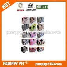 Luxury wholesale pet carrier,portable foldable pet bag ,dog bag