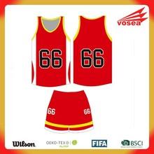 Wholeslae Custom China cheap new style jersey basketball design