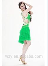 China factory spandex belly dance costumes ballroom and latin dancewear