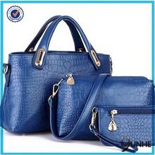 3 in 1guangzhou handbag manufacturers china crocodile handbag fashion