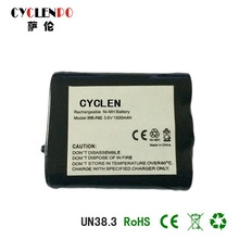 Factory price Nimh AA 2.4V 900MAH battery pack for wireless phone