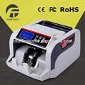 Mais avançada máquina de contar moedas/falsificado dinheiro euro