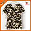 Camouflage t shirt custom printing & labels & tags Guanghzhou China manufacturer