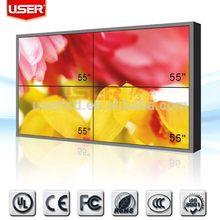 Economic best sell lcd video wall dvi