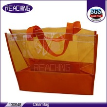 Customized logo & design USA market Supplier Clear Polythene Bags