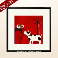 Hot abstract dog beautiful animal painting