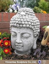 Modern garden decor white marble buddha statue for sale