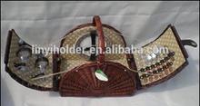 wholesale hampers 2 person picnic basket picnic bag