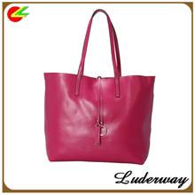 zhejiang manufacturer woman PU leather shoulder bags