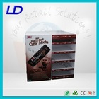 ODM&OEM easy-assembling cardboard advertising display stand for chocolate with 8 years Experience