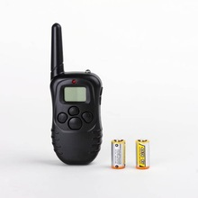 100LV Level 300meter Electronic Shock Vibra LCD Display Remote Control Pet Dog Training Collar For 1 Dog