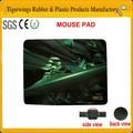 Mouse pad promocional/marco de la foto alfombrilla de ratón/de caucho natural yoga mat
