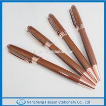 2015 High Quality , Elegant Designed shiny chromed Metal twist Ball Pen For Promotional