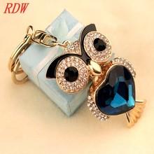RDW Keychain Perfect Rhinestone Animal For Cute Owl Keychain For Girls Beautiful Key Chain Designs