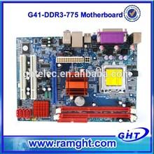 Desktop socket 775 motherboard support p4 pci/ ddr3 with G41 chipset