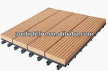 sintesi plasticain legno composito decking pavimentazione