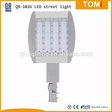 80W QR-1016 aluminum led street light 4 bar bridgelux chip Meanwell HLG driver 5 years warranty Shanghai Flood light
