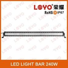 """41.5"""" 240w led light bar flood spot combo beam 4x4 Off road light For 4WD truck, atv suv, atv"""