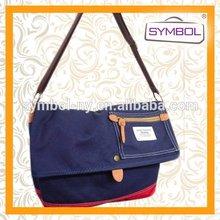 Top quality branded canvas kid school bag