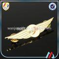 promotionnels soft émail broche badge en métal sur mesure ailes de pilote avec des conceptions différentes