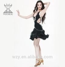 Best stage performance tassels belly dance dresses latin dancewear costumes