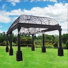 Substantial Garden Wrought Iron Gazebos For Sale