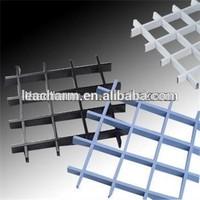 aluminum suspended grid/grille ceiling tiles,panels prices insulation,plastic gate sheet,vent block