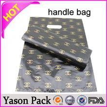 yason plastic fiber handle bag soft loop handle bags for gifts handle bag with scarf