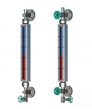 flange water tank magnetic level gauge/meter/manufacture