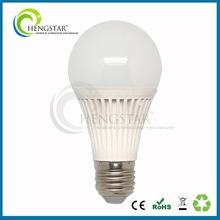 Internal aluminum +external ABs a60 bulb light e27 6w,7w,9w,10w,12w ce rohs ,led bulb a60
