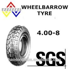 Good quality 400-8 4pr wheelbarrow tyre
