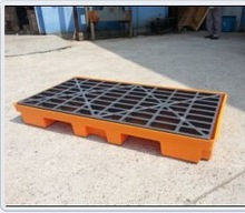 2015 hot new product four drum oil plastic spill deck supplier