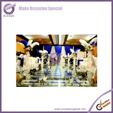 2015 newest design artificial ostrich feathers wedding decoration