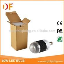 super power small size 90W COB LED bulb 9000lumen
